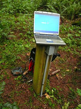 Data download in the field
